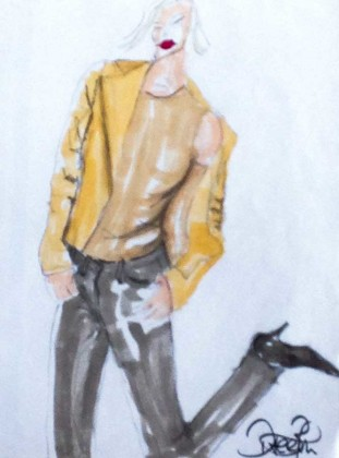 Illustration-casual-look-laessige-lederjacke